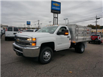2017 Silverado 3500 Regular Cab DRW 4x4 Stake Bed #C171438 - photo 1