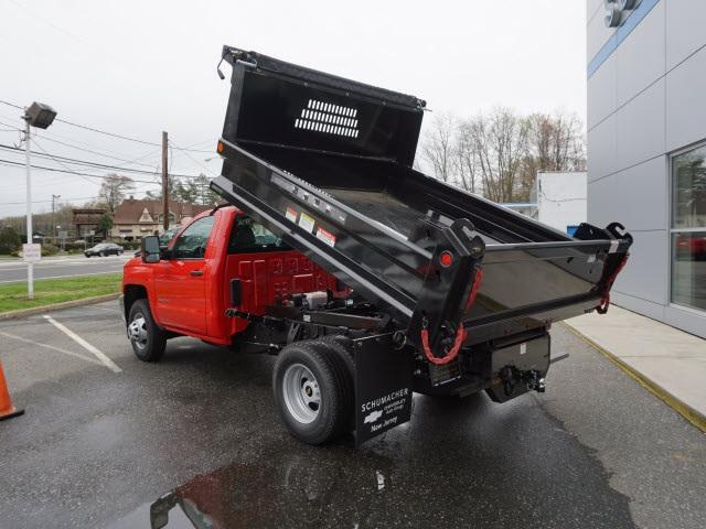 2017 Silverado 3500 Regular Cab DRW 4x4, Dump Body #D17850 - photo 2