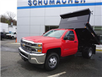 2017 Silverado 3500 Regular Cab DRW 4x4, Dump Body #D17850 - photo 1