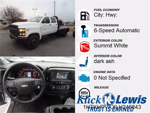 2020 Chevrolet Silverado 5500 Crew Cab DRW 4x2, Knapheide PGNC Gooseneck Platform Body #0825450 - photo 5
