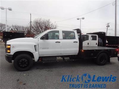 2020 Chevrolet Silverado 5500 Crew Cab DRW 4x2, Knapheide PGNC Gooseneck Platform Body #0825450 - photo 8
