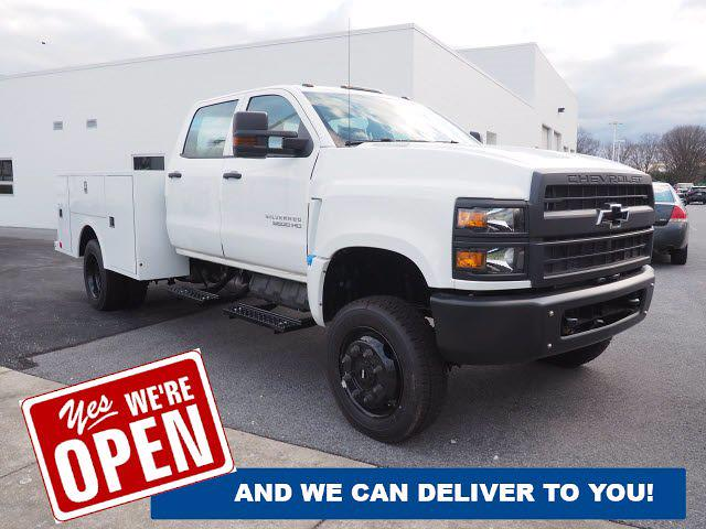 2020 Chevrolet Silverado 5500 Crew Cab DRW 4x4, Warner Service Body #0826870 - photo 1