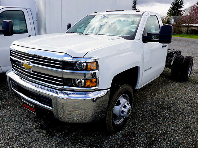 2016 Silverado 3500 Regular Cab, Cab Chassis #11414 - photo 3