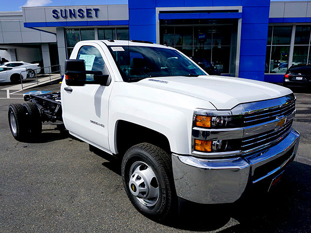 2016 Silverado 3500 Regular Cab, Cab Chassis #11455 - photo 3