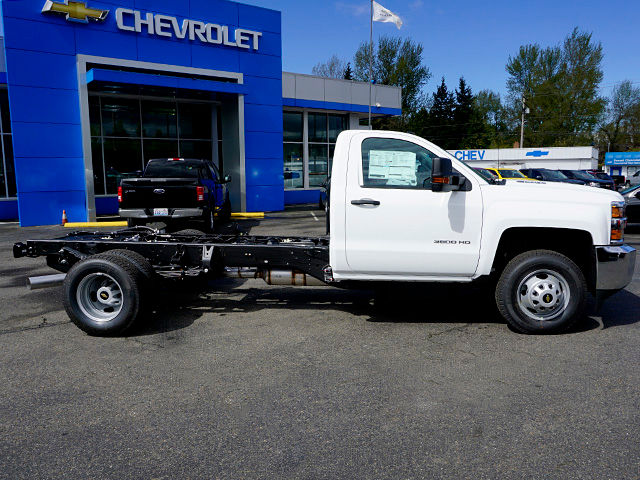 2016 Silverado 3500 Regular Cab, Cab Chassis #11455 - photo 4