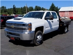 2017 Silverado 3500 Crew Cab 4x4, Platform Body #13967 - photo 1