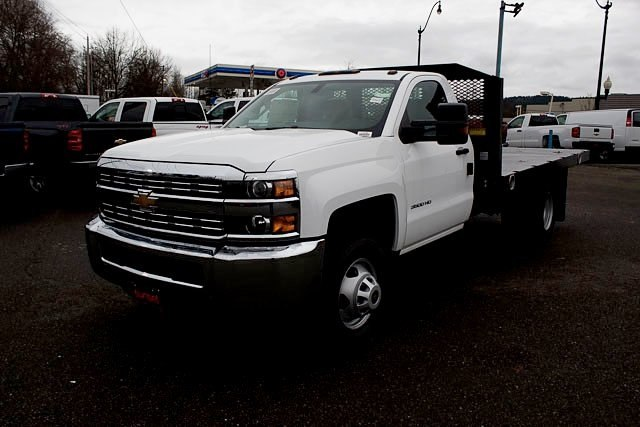 2017 Silverado 3500 Regular Cab DRW, Platform Body #14742 - photo 1