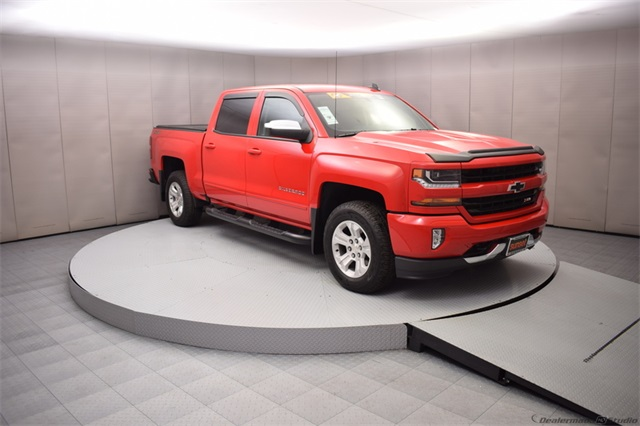 2018 Silverado 1500 Crew Cab 4x4,  Pickup #15450 - photo 4