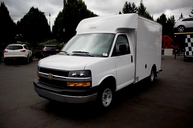 2018 Express 3500 4x2,  Heiser Cutaway Van #15880 - photo 1