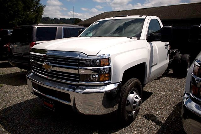 2018 Silverado 3500 Regular Cab DRW 4x2,  Cab Chassis #16243 - photo 1