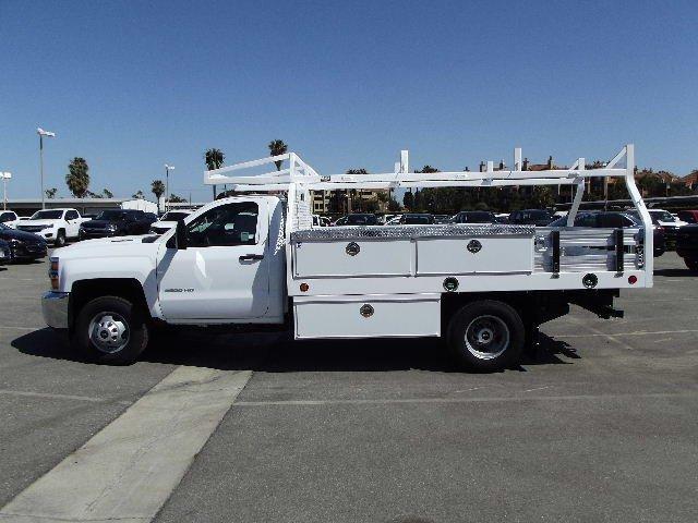 2018 Silverado 3500 Regular Cab DRW 4x2,  Royal Contractor Body #J169755 - photo 6