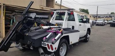2019 Silverado 3500 Regular Cab DRW 4x2, Dynamic Wrecker Body #K187565 - photo 4