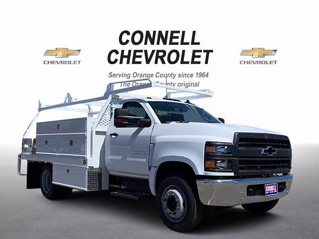 2020 Chevrolet Silverado 4500 Regular Cab DRW RWD, Scelzi Contractor Body #L237997 - photo 1