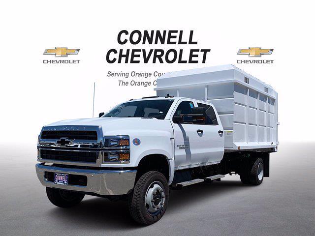 2020 Chevrolet Silverado 5500 Crew Cab DRW 4x4, Scelzi Chipper Body #L239855 - photo 3