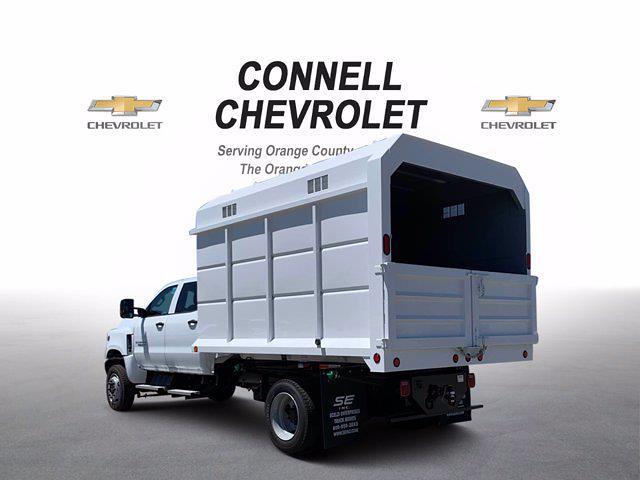 2020 Chevrolet Silverado 5500 Crew Cab DRW 4x4, Scelzi Chipper Body #L239855 - photo 2