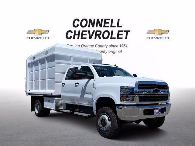2020 Chevrolet Silverado 5500 Crew Cab DRW 4x4, Scelzi Chipper Body #L239855 - photo 1