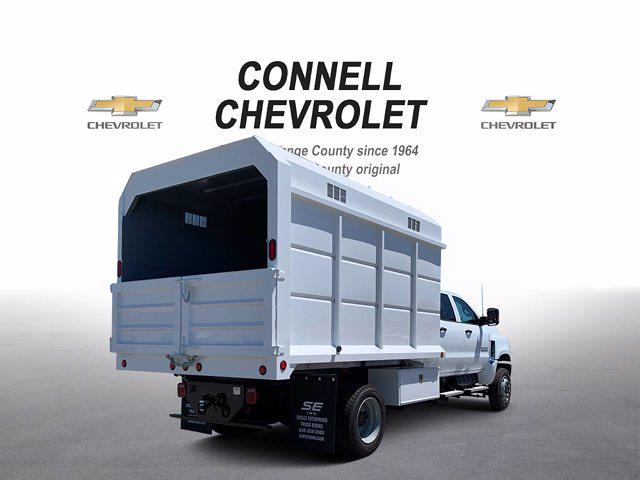 2020 Chevrolet Silverado 5500 Crew Cab DRW 4x4, Scelzi Chipper Body #L239855 - photo 1