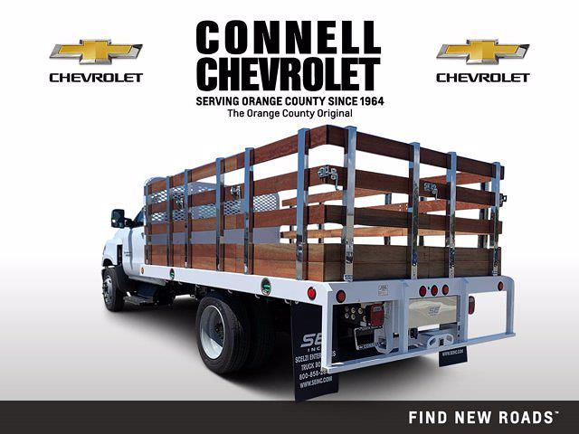 2020 Chevrolet Silverado 4500 Regular Cab DRW 4x2, Scelzi Stake Bed #L398442 - photo 1