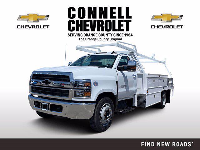 2020 Chevrolet Silverado 4500 Regular Cab DRW 4x2, Scelzi Contractor Body #L399172 - photo 1