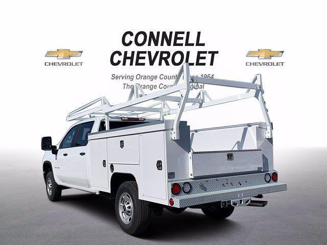 2021 Chevrolet Silverado 2500 Crew Cab 4x2, Scelzi Service Body #M172756 - photo 1