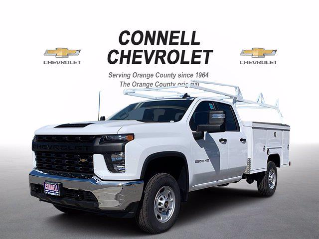 2021 Chevrolet Silverado 2500 Double Cab 4x2, Scelzi Service Body #M172837 - photo 1