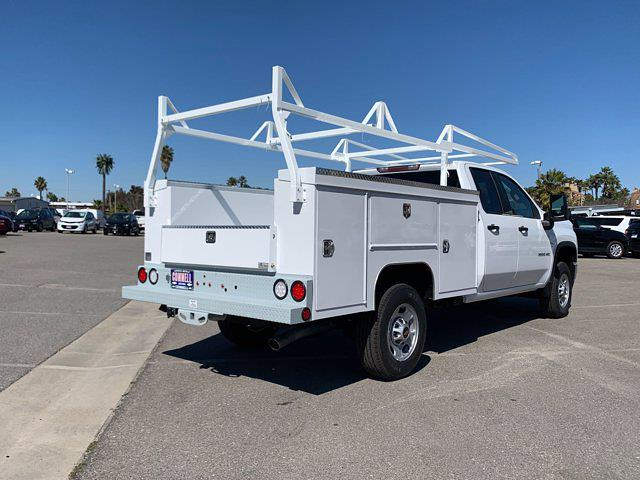 2021 Chevrolet Silverado 2500 Double Cab 4x2, Scelzi Crown Service Body #M172837 - photo 7