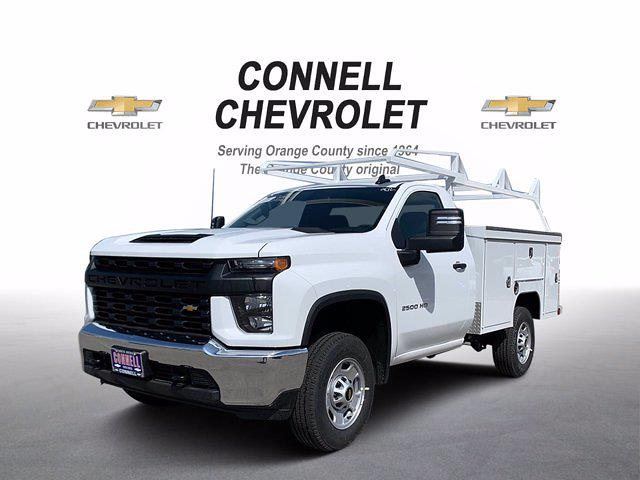 2021 Chevrolet Silverado 2500 Regular Cab 4x2, Scelzi Service Body #M189402 - photo 1