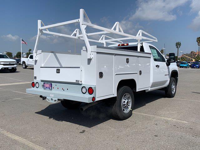 2021 Chevrolet Silverado 2500 Regular Cab 4x2, Scelzi Crown Service Body #M189402 - photo 7