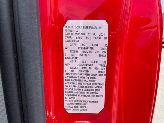 2021 Silverado 3500 Regular Cab 4x2,  Scelzi Signature Service Body #M224892 - photo 46