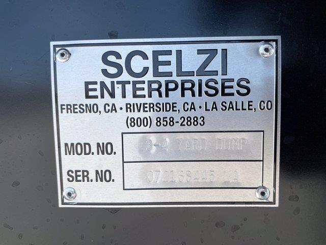 2021 Silverado 5500 Regular Cab DRW 4x2,  Scelzi Dump Body #M386216 - photo 54