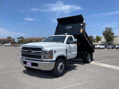 2021 Silverado 5500 Regular Cab DRW 4x2,  Scelzi Dump Body #M386216 - photo 25