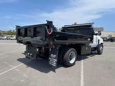 2021 Silverado 5500 Regular Cab DRW 4x2,  Scelzi Dump Body #M386216 - photo 8