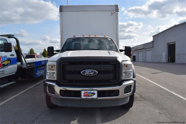 2011 Ford F-550 Regular Cab DRW 4x2, Dry Freight #72337A - photo 3