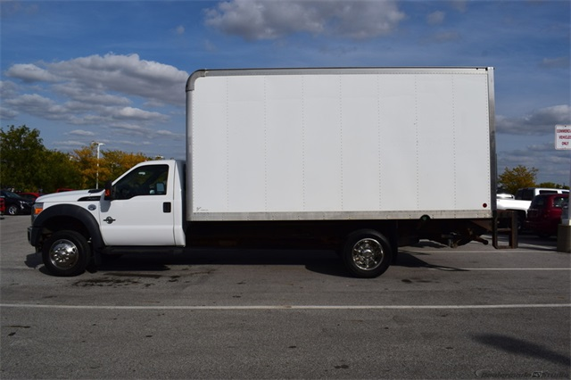 2011 Ford F-550 Regular Cab DRW 4x2, Dry Freight #72337A - photo 1