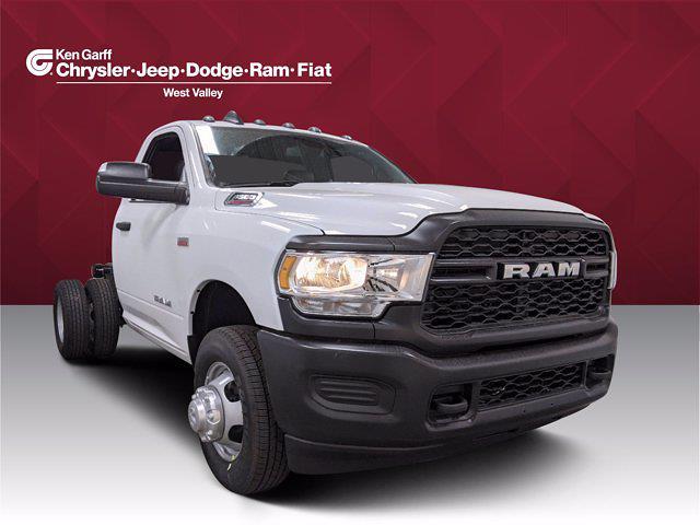 2021 Ram 3500 Regular Cab DRW 4x4, Cab Chassis #1DF1391 - photo 1