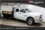2014 Ram 3500 Crew Cab DRW 4x4, Stake Bed #1DF7323A - photo 1
