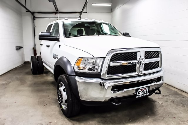 2018 Ram 5500 Crew Cab DRW 4x4 Cab Chassis #1DF8031 - photo 4
