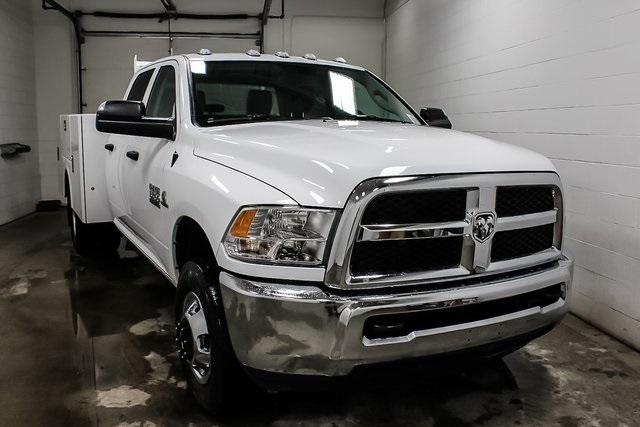 2018 Ram 3500 Crew Cab DRW 4x4, Service Body #1DF8111 - photo 4