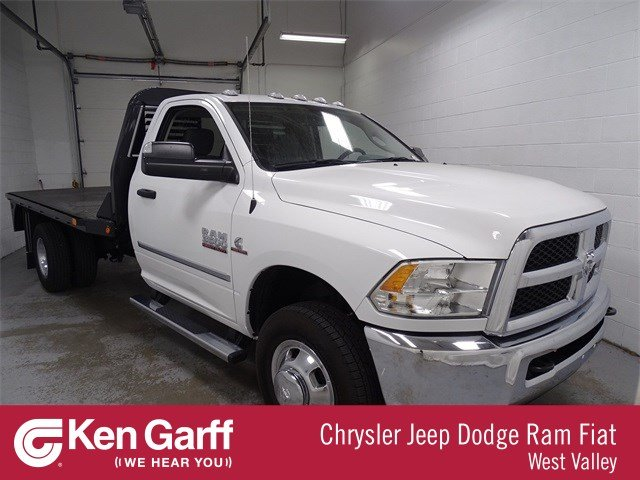 2018 Ram 3500 Regular Cab DRW 4x2,  Platform Body #1DF8243 - photo 1