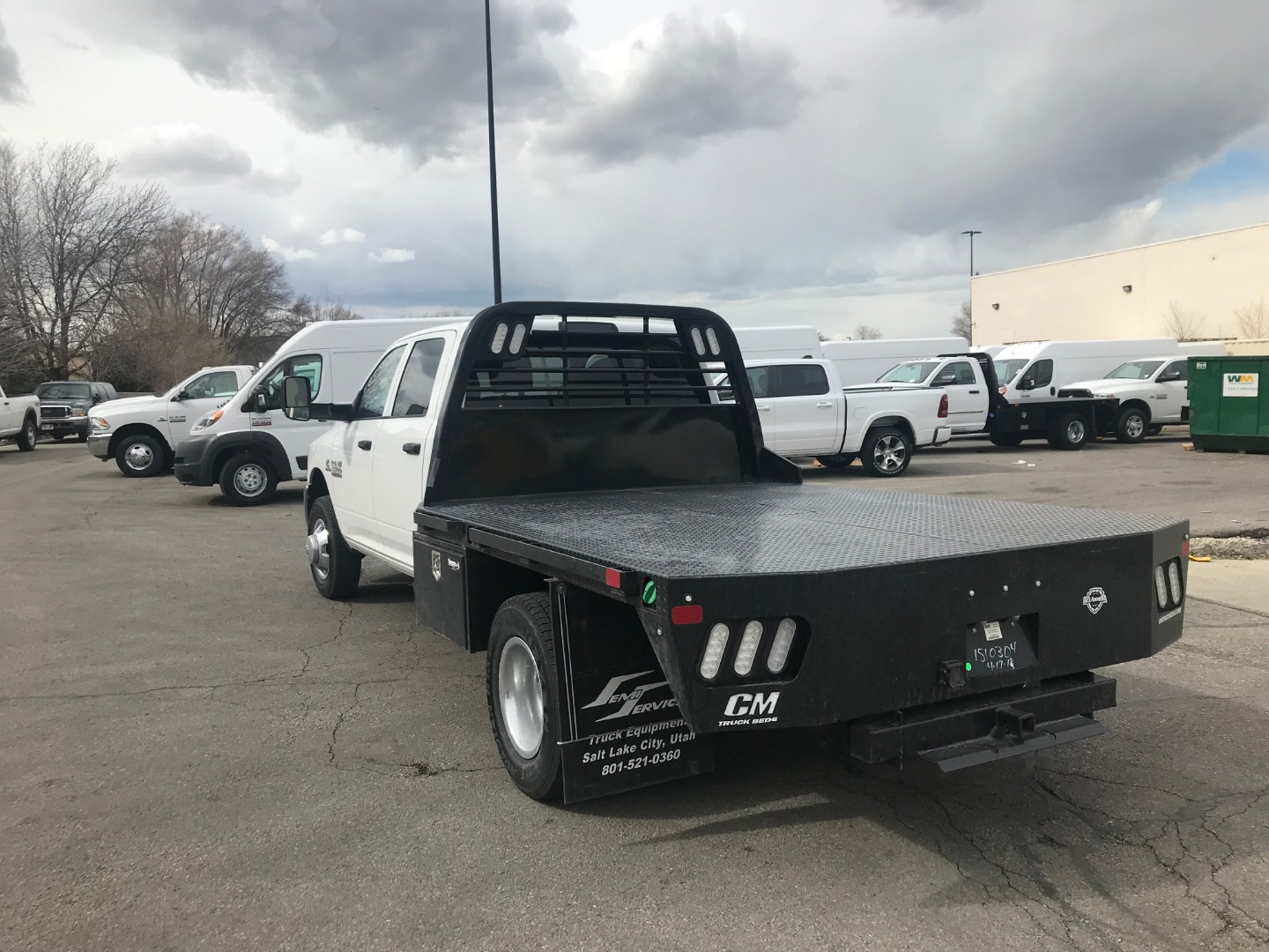 2018 Ram 3500 Crew Cab DRW 4x4,  Platform Body #1DF8357 - photo 2