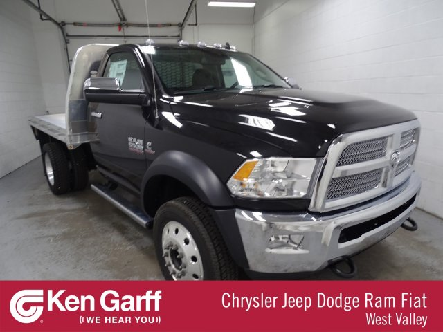 2018 Ram 5500 Regular Cab DRW 4x4,  Platform Body #1DF8392 - photo 1