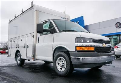 2020 Chevrolet Express 3500 4x2, Dejana DuraCube Max Service Utility Van #G00917 - photo 1