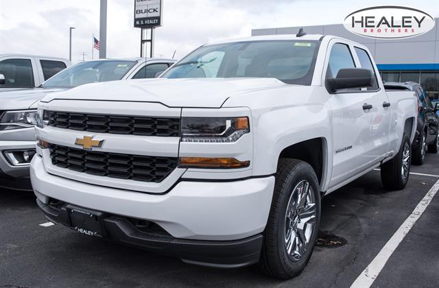 2018 Silverado 1500 Double Cab 4x4, Pickup #GV87656 - photo 3