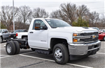 2018 Silverado 3500 Regular Cab DRW 4x4, Cab Chassis #GV87828 - photo 1