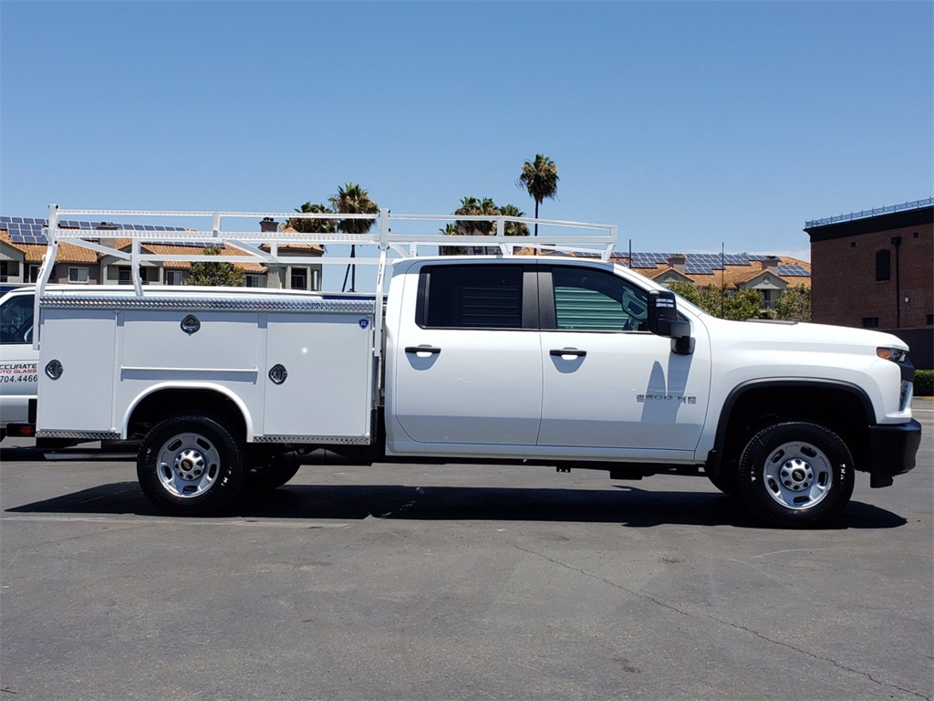 2020 Chevrolet Silverado 2500 Crew Cab 4x2, Service Body #201246 - photo 3