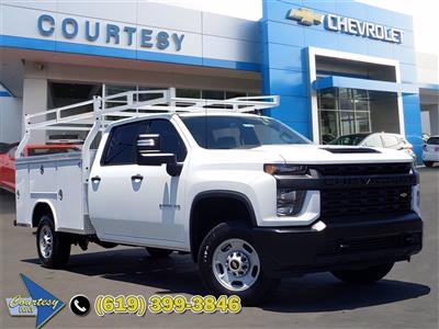 2020 Chevrolet Silverado 2500 Crew Cab 4x2, Service Body #201246 - photo 1