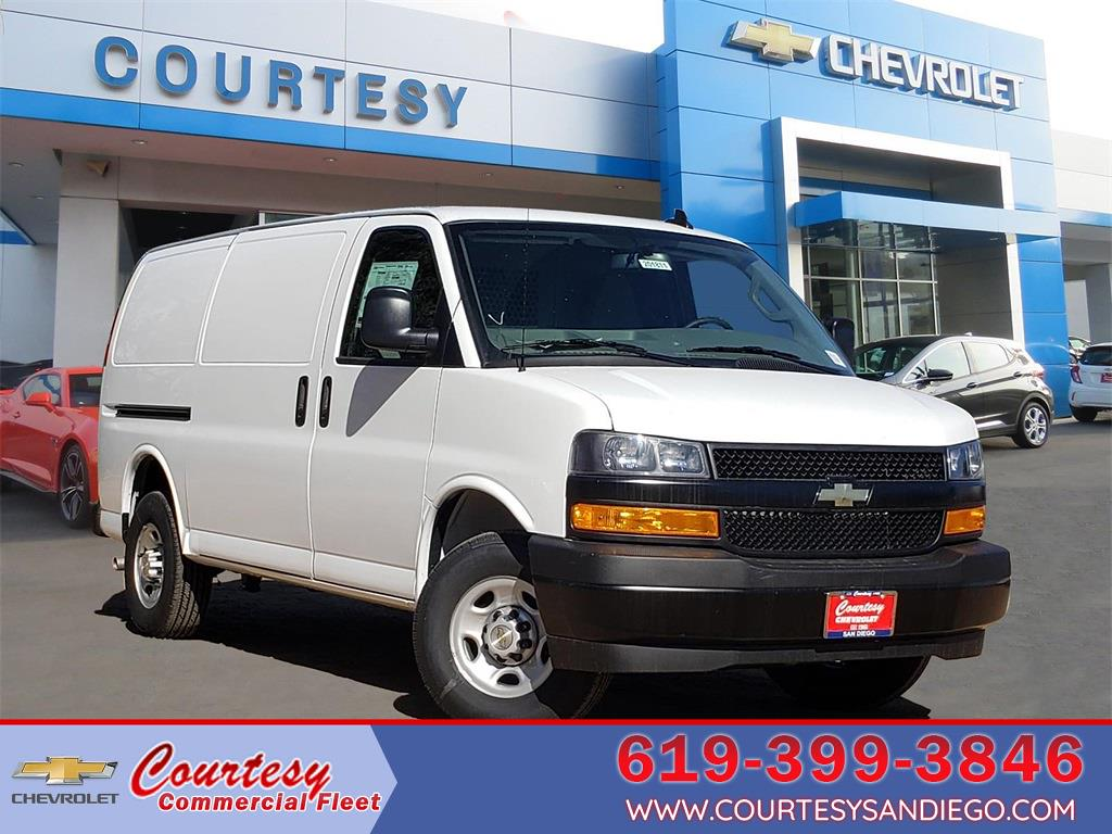 2020 Chevrolet Express 2500 4x2, Adrian Steel Upfitted Cargo Van #201811 - photo 1