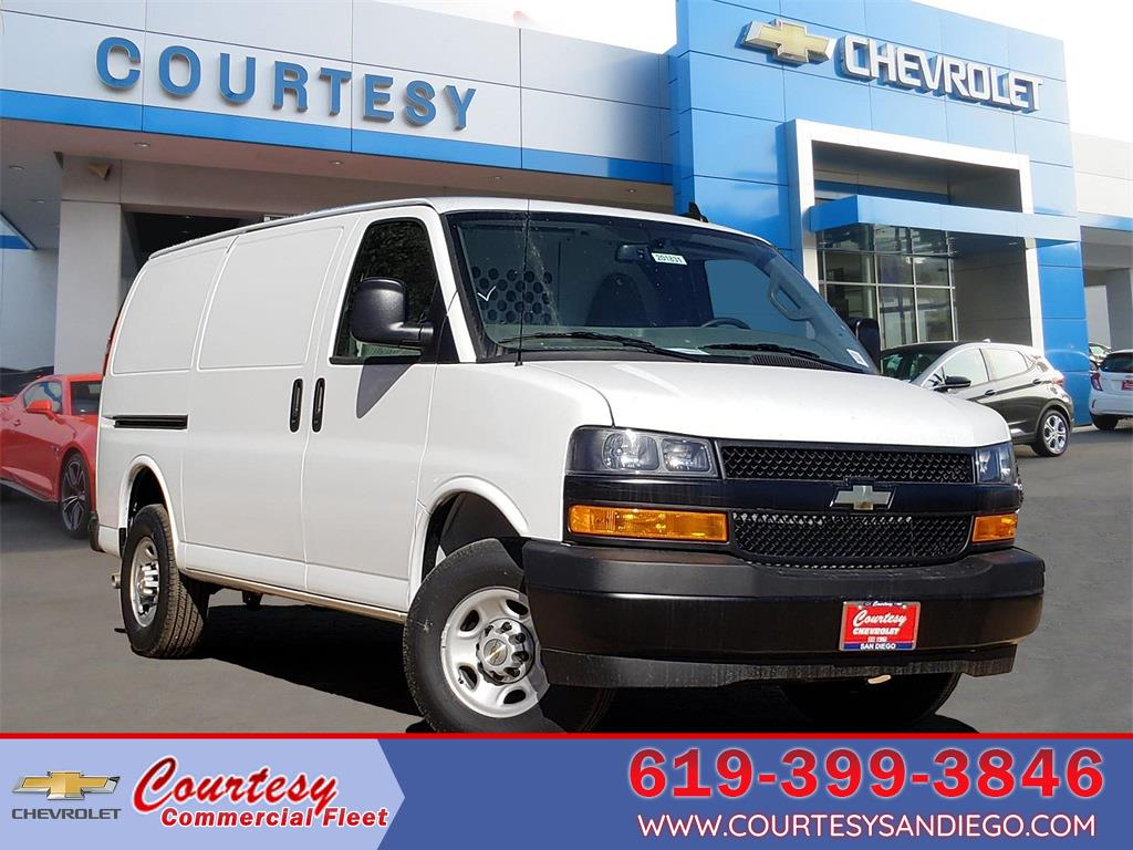 2020 Chevrolet Express 2500 4x2, Harbor Upfitted Cargo Van #201823 - photo 1