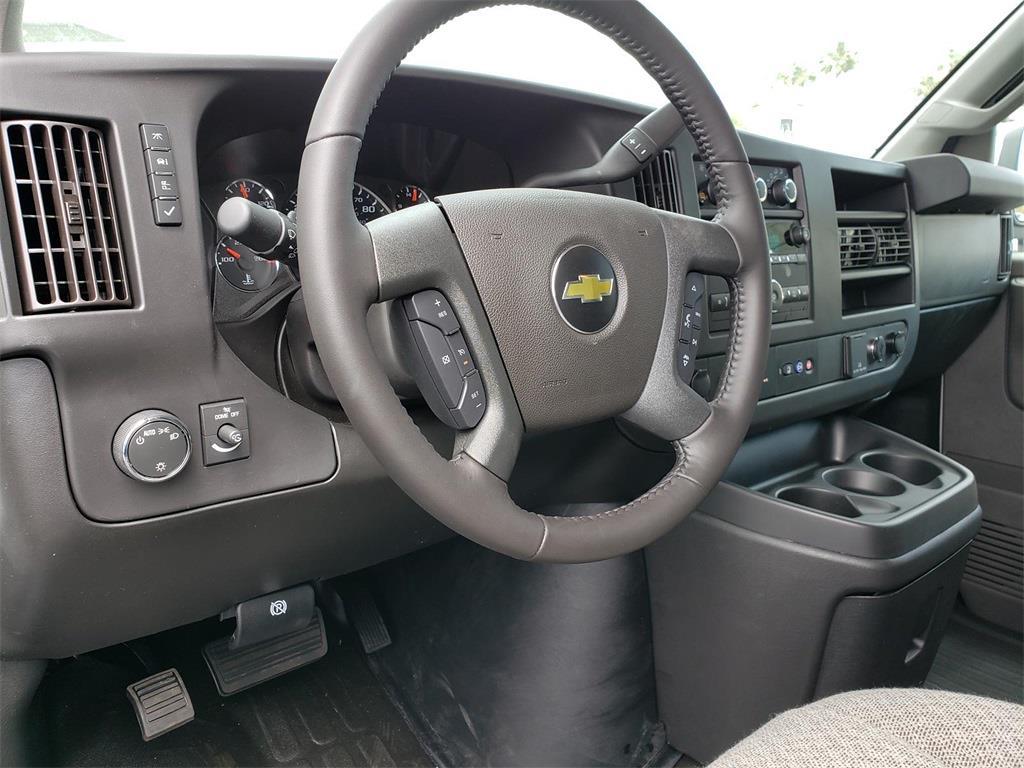 2021 Chevrolet Express 2500 4x2, Upfitted Cargo Van #211007 - photo 4
