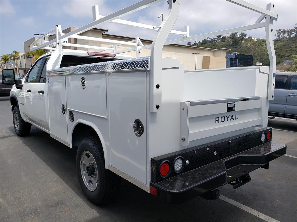 2021 Chevrolet Silverado 2500 Double Cab 4x2, Royal Truck Body Service Body #211161 - photo 1